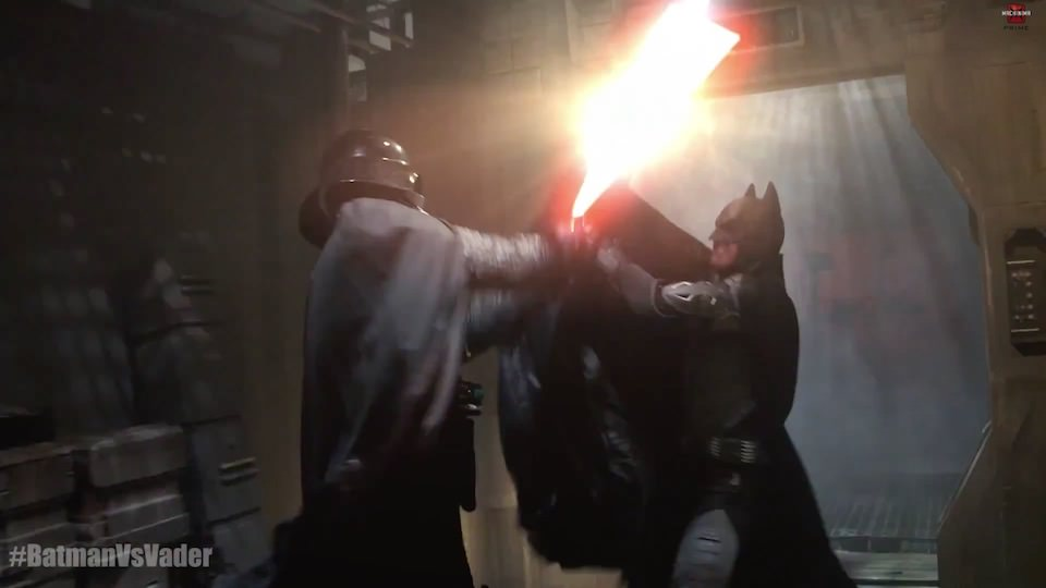 Batman vs. Darth Vader – Super Power Beat Down (2014)