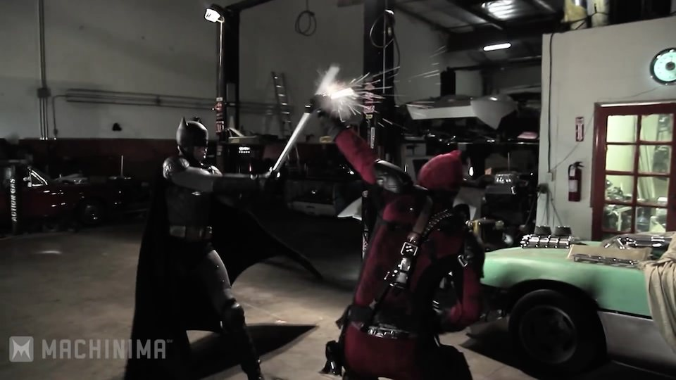 Batman vs. Deadpool – Super Power Beat Down (2013)