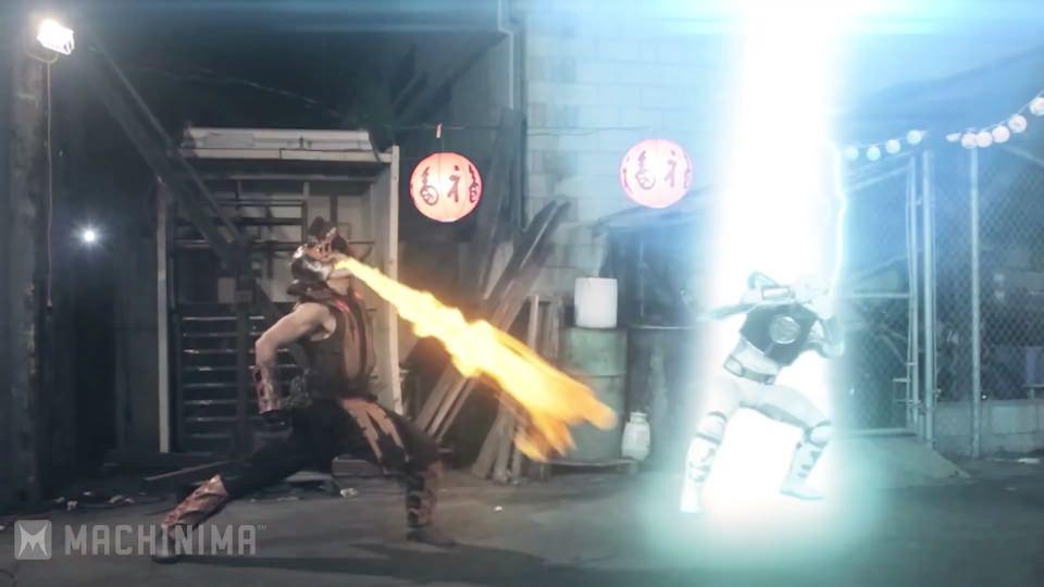 White Ranger vs. Scorpion – Super Power Beat Down (2013)