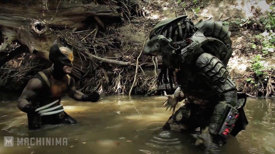 Wolverine vs. Predator – Super Power Beat Down (2013)