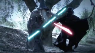 Darth Vader vs. Gandalf – Super Power Beat Down (2012)