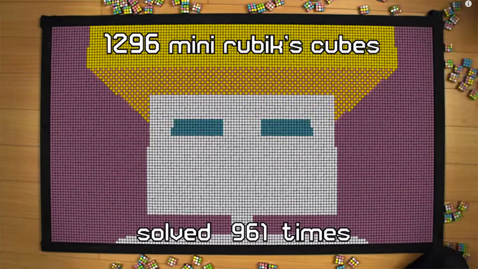 Rubik's Cube Animation (2015)