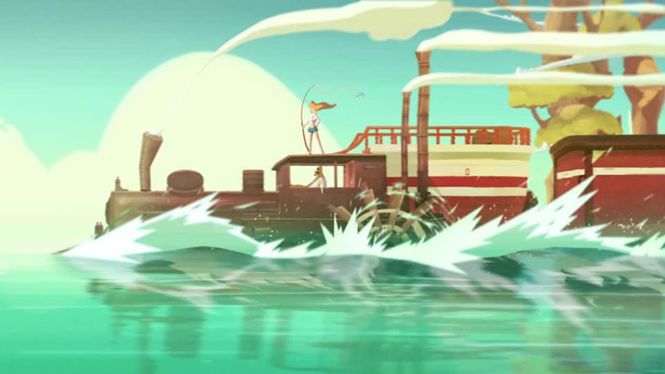 Fishing Train (2014)