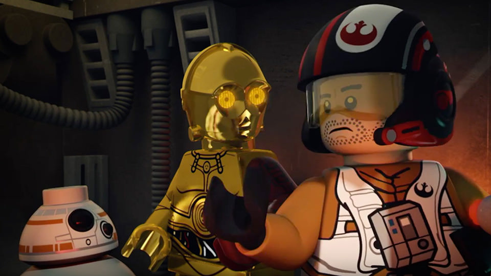 Poe to the Rescue | LEGO Star Wars: The Resistance Rises (2016)